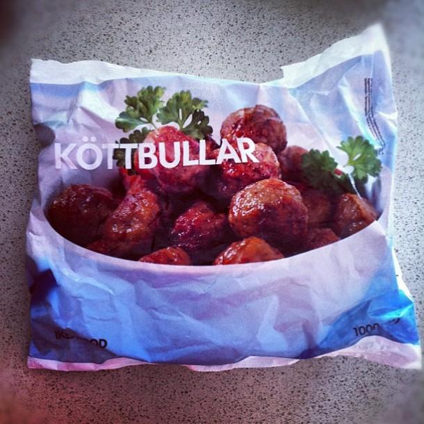 IKEA meatballs köttbullar