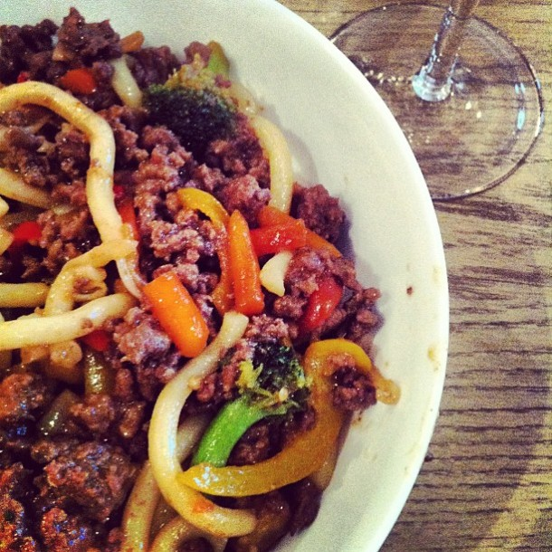 Indonesian Beef Udon
