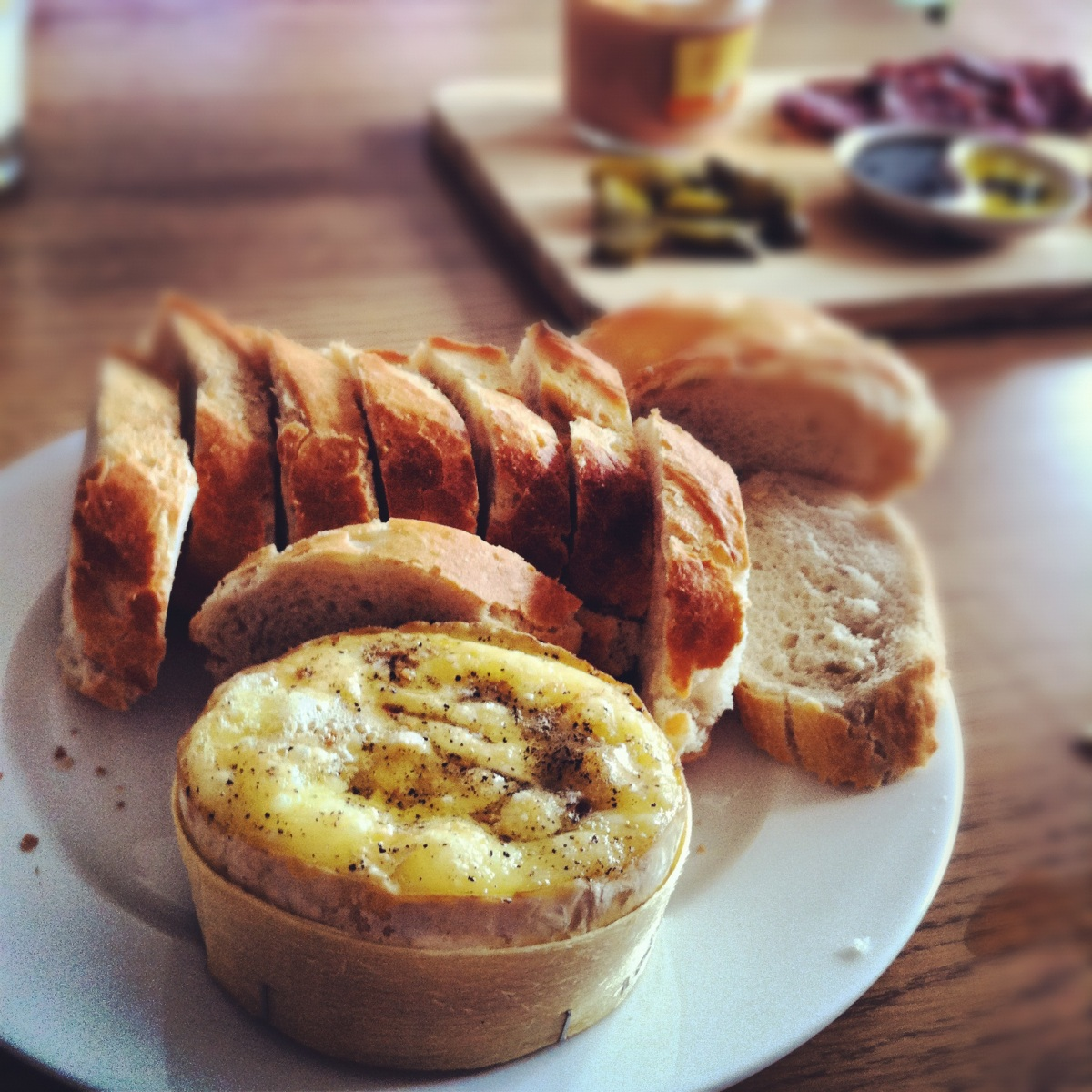 Lazy dinners (including baked petit camembert recipe)