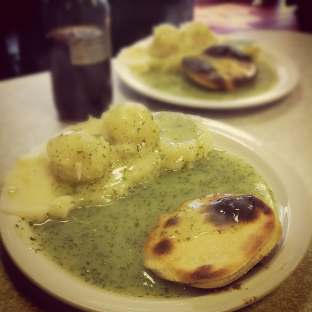 Tony's Pie & Mash Shop Essex
