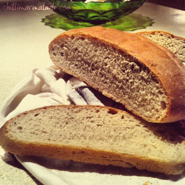 Easy bake white bread recipe