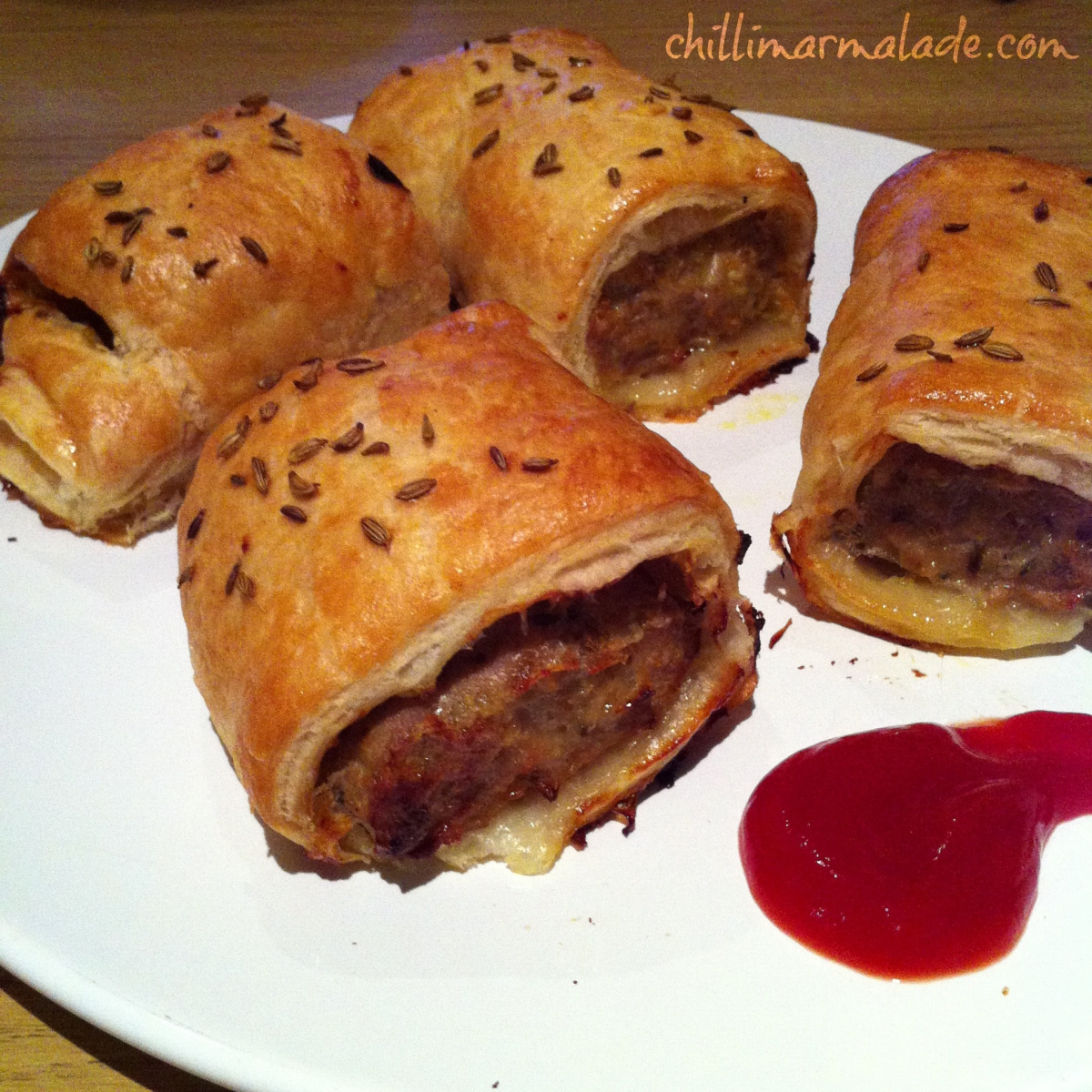 Bourke Street Bakery Pork and Fennel Sausage Rolls