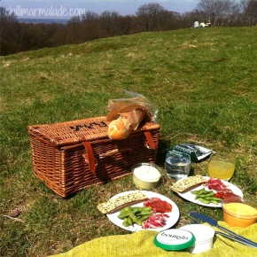 Epping Forest picnic