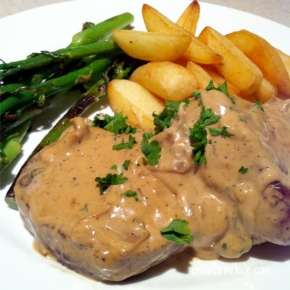 Cook the perfect steak: Steak Diane