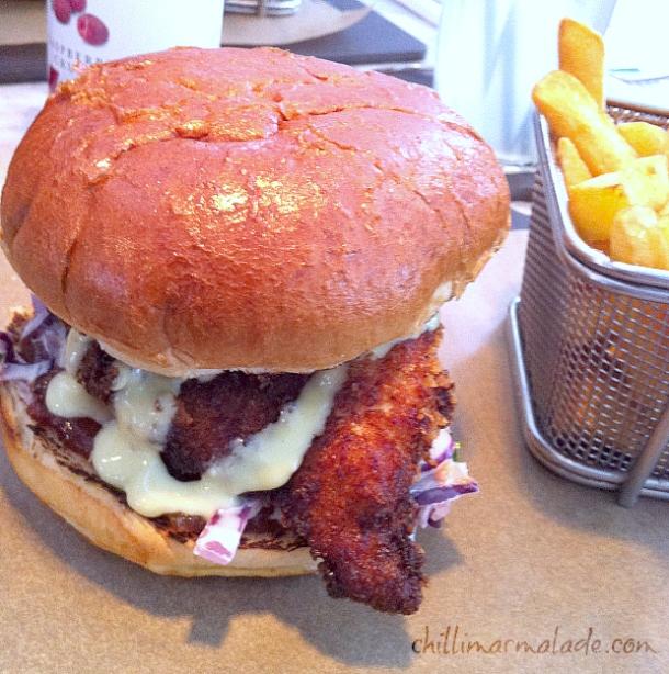 chicken burger Eat 17