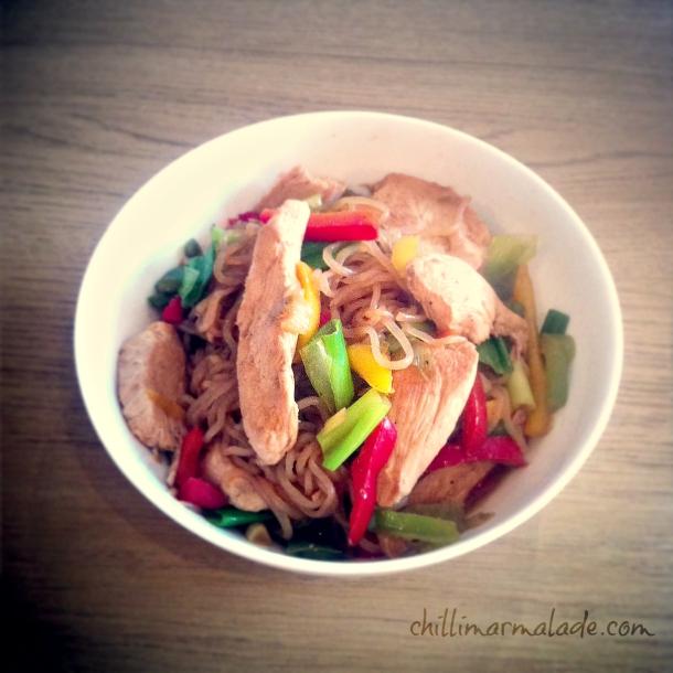 Hoisin Chicken Shirataki Fast Diet recipes