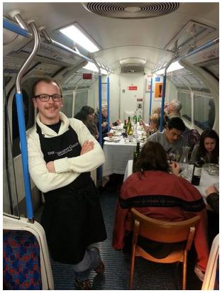 London Underground supper club