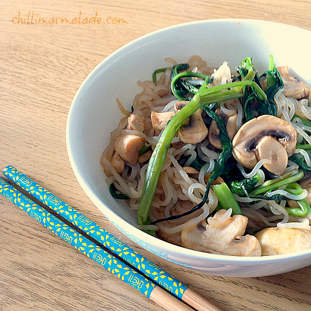 Shirataki noodle recipe