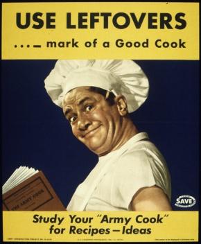 Vintage U.S. food propagandaposters