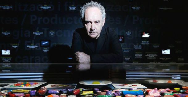 Ferran Adria and the art of food