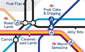 What does London Underground taste like?