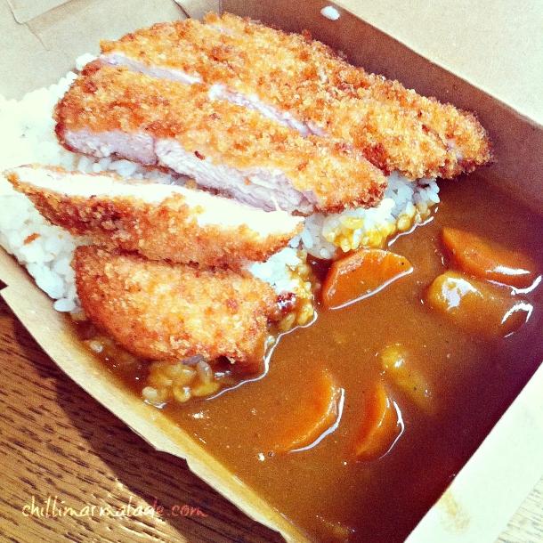 Tsuru Chicken Katsu Curry
