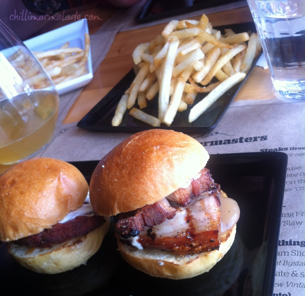 Tasman Quartermaster burgers