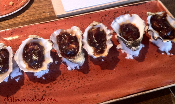 Roaring Grill Hobart Oysters