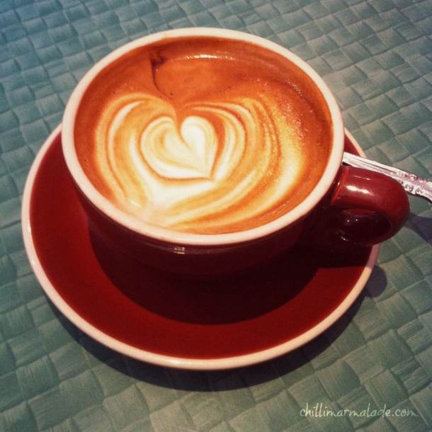 Ginger Brown coffee Hobart
