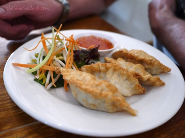 Dede's North Hobart dumplings