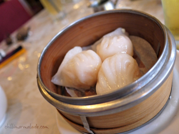 Har gow (my absolute favourite!)