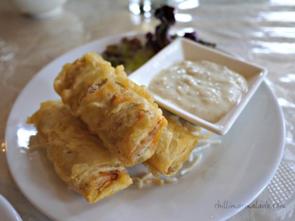 Seafood rolls