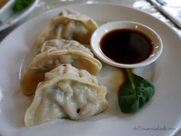 Pork & Prawn potsticker dumplings